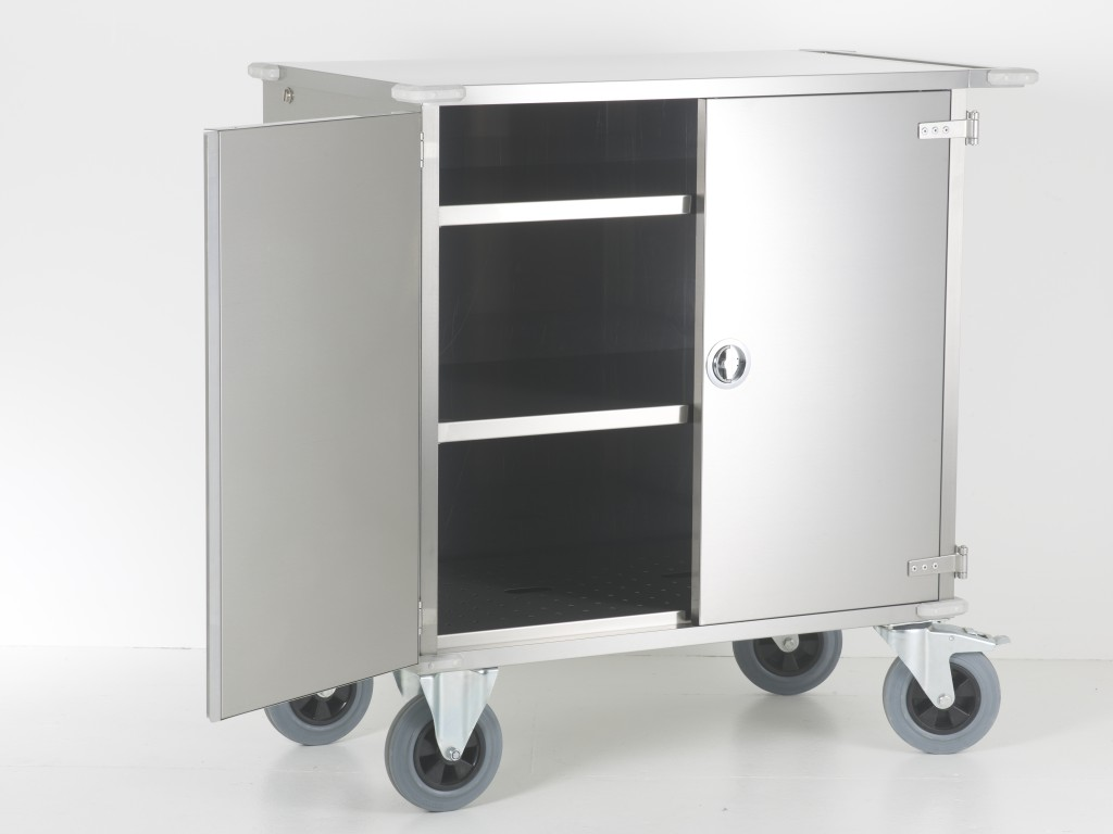 Stainless Steel Sterile Services Transport Trolleys CSSD – TTCL