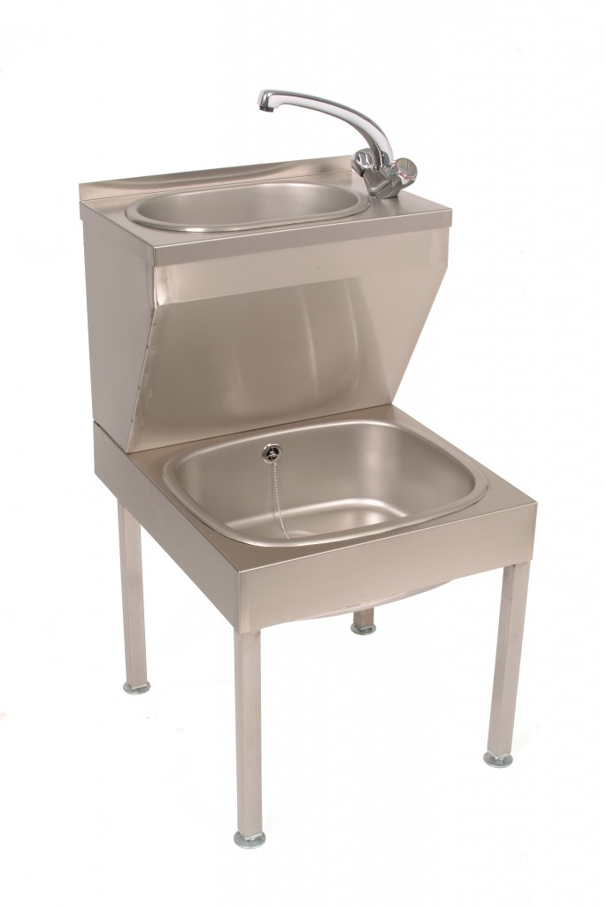 Stainless Steel Janitorial Sink Unit – JANUNIT