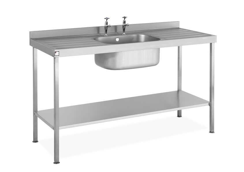 ... Stainless Steel Sink Assembled Sink Single Bowl Double Drainer U2013  SINKSBDD. Sale. SINKSBDD