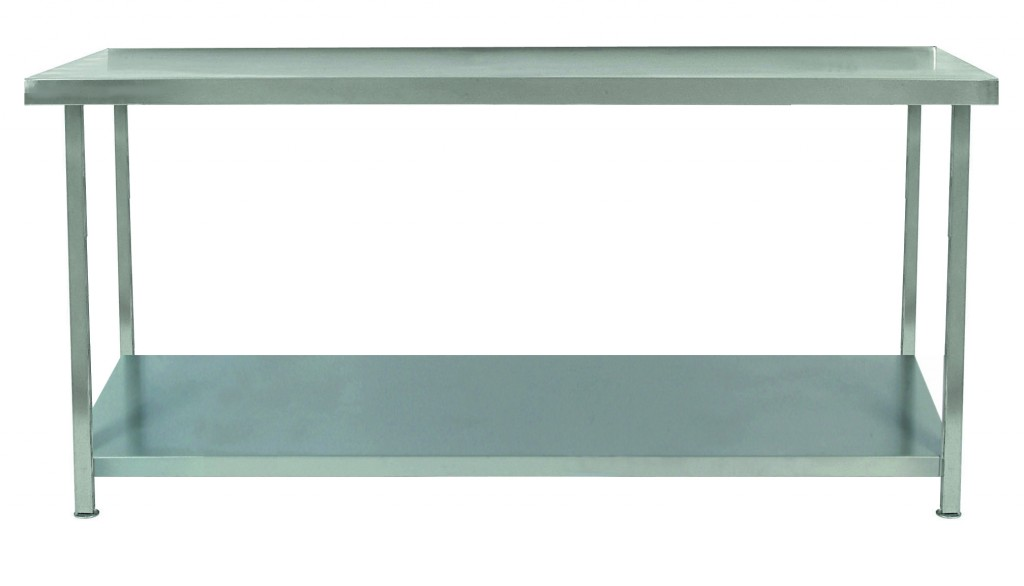 Stainless Steel Clean/Wet Room Table with Undershelf – TAB1U/SCL