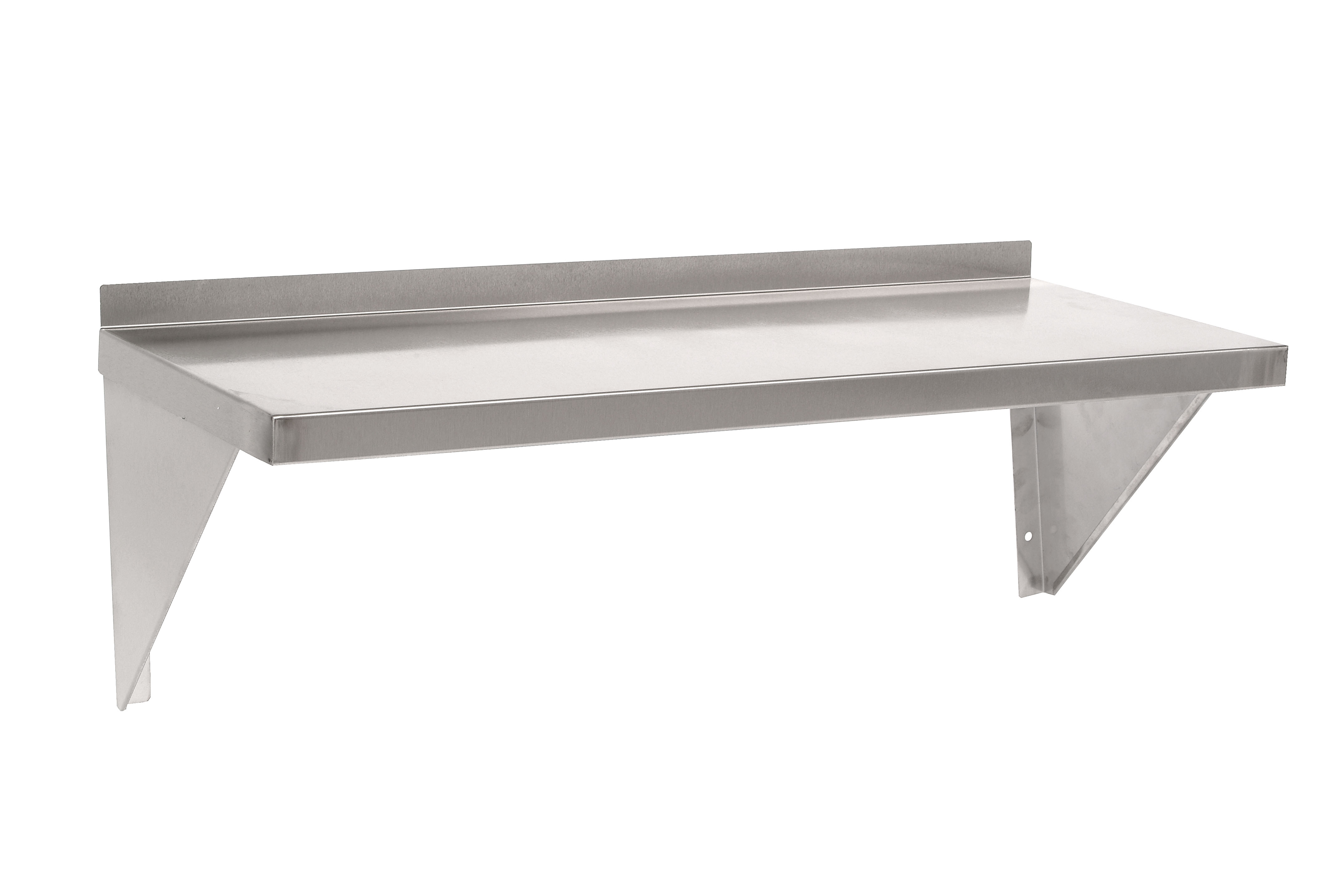 Stainless Steel Shelves Stainless Steel Storage Wall Shelves Shelf3w Parry