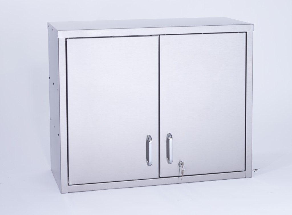 Stainless Steel Hinged Wall Cupboard – WCH750