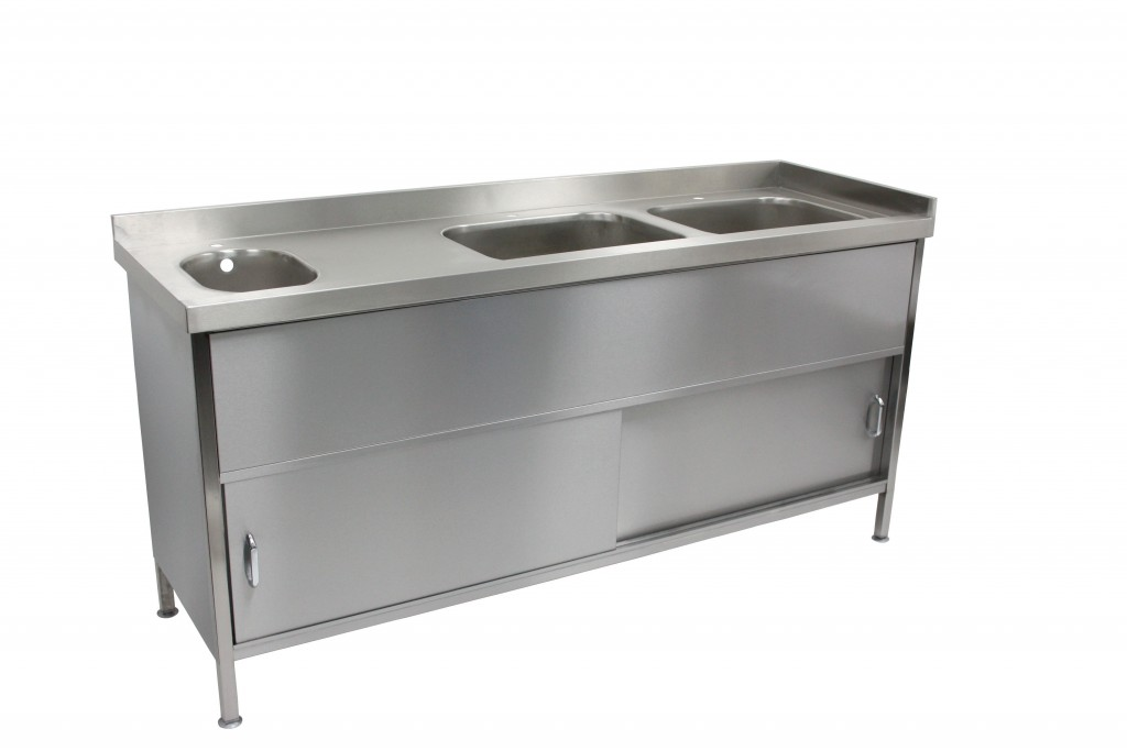 Bespoke Stainless Steel Sink Cupboard Unit – BSINKCUP