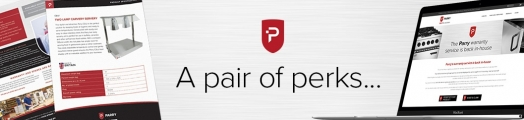 A proper pair of Parry perks…Specification sheets & enhanced warranty