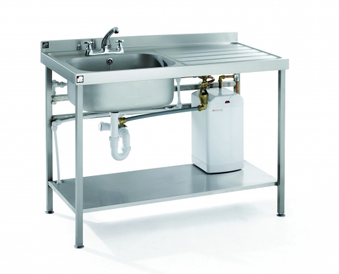 STAINLESS STEEL QUICK FIT SINKS