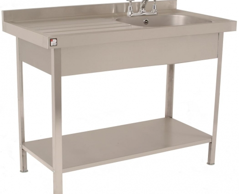 STAINLESS STEEL SELF ASSEMBLY SINKS